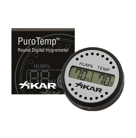Xikar Digital hygrometer rund