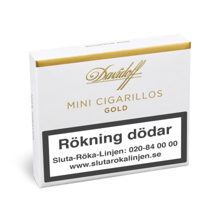 Davidoff Mini Gold 20 st
